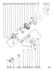Схема ГЕНЕРАТОР В СБОРЕ В СБОРЕ (MOTOROLA)