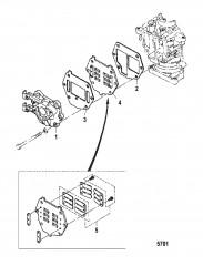 Схема Впускной коллектор
