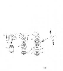 Комплект выносного масляного фильтра (92043A5 / A7)