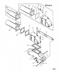 Exhaust Manifold / Elbow (Mercruiser System)