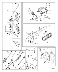 Схема Electrical Components Digital Throttle and Shift