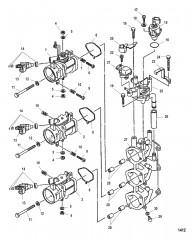 Схема Корпус дроссельной заслонки (Левый борт)