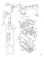 Схема Расширительная камера и соединительные пластины