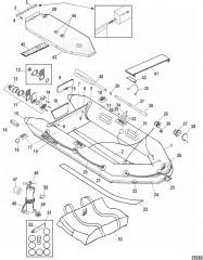 Модели Mercury Air Deck (Белый)