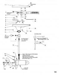 Двигатель для тралового лова в сборе (Модель GWB80V / GWT80V) (24 В)