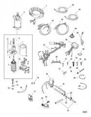 Комплект преобразования электрического пуска (822462A06)
