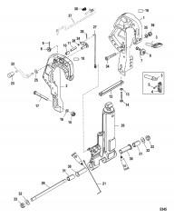 Схема Clamp Bracket