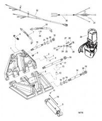 K Plane, 150S (транцевая плита) (841944A01 / 841944A02)