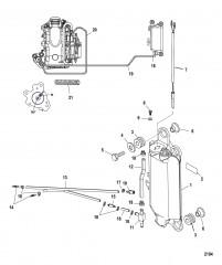 Схема Масляный бак