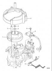 Схема Колпачок маховика Сер. № 0R318096 и выше