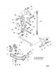 Схема Компоненты усилителя дифферента (Съемный корпус насоса)