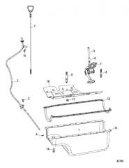 Схема Oil Pan And Oil Pump