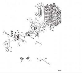 Схема Пластина электромагнита