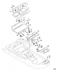 Схема Компоненты сидения