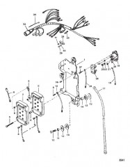 Схема Электропроводка и электромагнит стартера