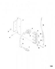 Схема Электрические компоненты (Катушка зажигания)