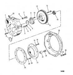 Схема Корпус маховика (Бортовые двигатели)