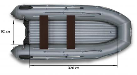 Моторная надувная лодка «ФЛАГМАН - 450»