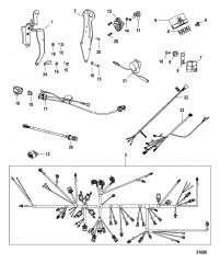 Электропроводка и подъемные кронштейны