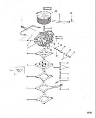 Схема Компоненты рулевого механизма с усилителем