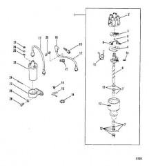 Схема Компоненты стандартной системы зажигания
