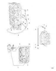 Схема Маслопроводы