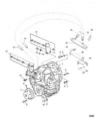Схема Трансмиссия и связанные детали (Hurth 630)