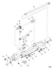 Цилиндр рулевого механизма в сборе (898349A11)