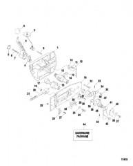 Схема Блок ДУ в сборе (802755)