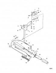 Схема Рукоятка / поворотная рукоятка рулевого механизма