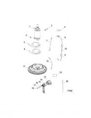 Комплект преобразования электрического пуска (50-856555A1)