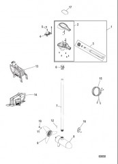 Схема Двигатель для тралового лова в сборе Регулируемая скорость