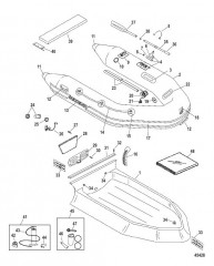 Схема Надувные лодки Dynamic из хайпалона 260/280/310 (QS 2010/2011)