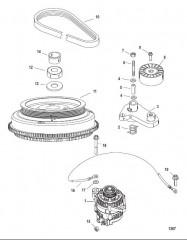 Схема Комплект для крепления сдвоенного кабеля