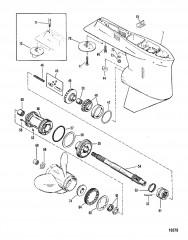 Картер редуктора Вал гребного винта – XR4/Magnum II