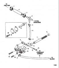 Схема Масляный инжекторный насос