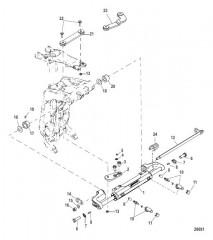 Цилиндр рулевого механизма в сборе (898349A01)