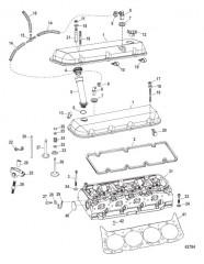 Схема Cylinder Head