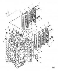 Схема Выхлопные крышки