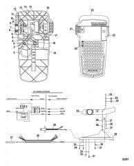 Схема Ножная педаль в сборе (MLP300492)