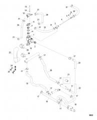 Схема Корпус термостата
