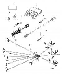 Комплект блока управления Режим мертвой зоны (Triple)