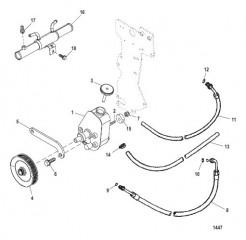 Схема Power Steering Components