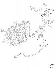 Топливный насос и топливопроводы Механический