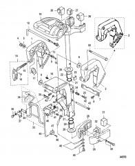 Схема Фиксатор и поворотные кронштейны