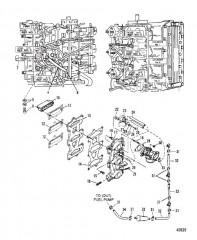 Пластина и система рециркуляции 0E065372-0E093699
