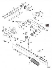 Схема Румпельная рукоятка