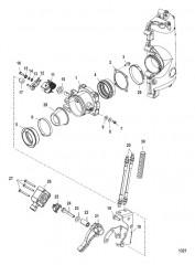 Схема Корпус дроссельной заслонки