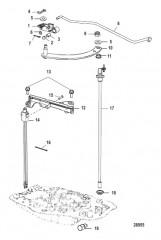 Схема Shift Linkage Tiller, Design-I-Shift Detent