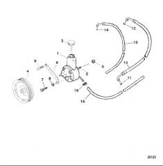 Компоненты рулевого механизма с усилителем
